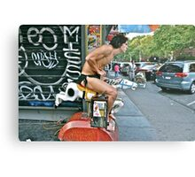 ESCAPE FROM NEW YORK TARZAN Metal Print