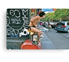 ESCAPE FROM NEW YORK TARZAN Canvas Print