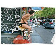 ESCAPE FROM NEW YORK TARZAN Poster