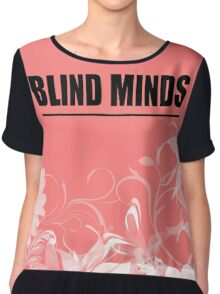 Blind Minds Floral Chiffon Top
