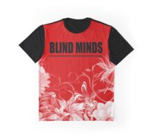 Blind Minds Floral Graphic T-Shirt