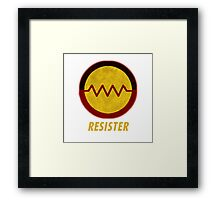 First Nations Resister Framed Print
