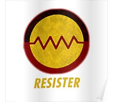 First Nations Resister Poster