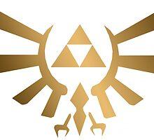 Triforce Crest by April Engelmann