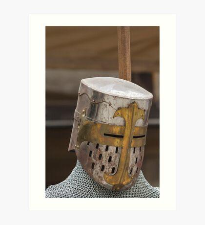 iron armor Art Print