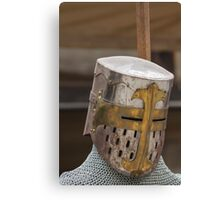 iron armor Canvas Print