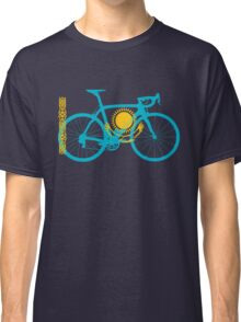 Bike Flag Kazakhstan (Big) Classic T-Shirt