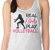 Real Girls play volleyball Women's Tank Top