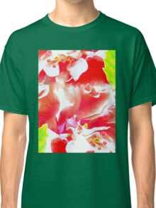 Hibiscus collage tee Classic T-Shirt