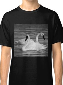 Pair of Trumpeter Swans Classic T-Shirt