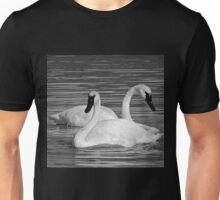 Pair of Trumpeter Swans Unisex T-Shirt