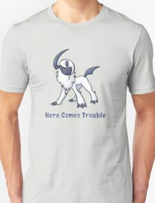 Absol : Here Comes Trouble Unisex T-Shirt