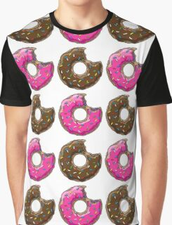 You can't buy happiness, but you can buy many DONUTS. Graphic T-Shirt