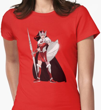 Warrior Goddess Womens Fitted T-Shirt