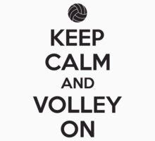 Keep calm and volley on by nektarinchen