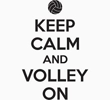 Keep calm and volley on Unisex T-Shirt