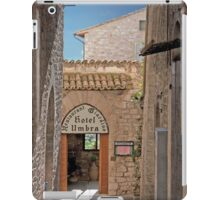 Assisi Alleyway iPad Case/Skin