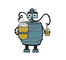 Beer Bot Photographic Print