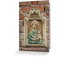 religious angle Greeting Card