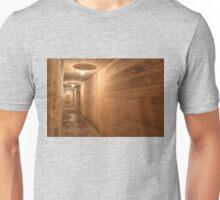 Orange tunnel vision Unisex T-Shirt