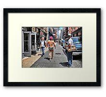 STREET SMART TARZAN Framed Print