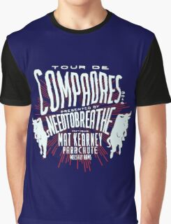 Needtobreathe Tour De Compadres 2016 Graphic T-Shirt