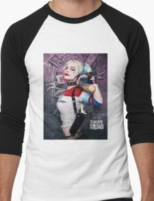 Suicide Squad - Harley Queen Men's Baseball ¾ T-Shirt