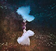 The Girl Under the Pond - Conceptual image  by BobbiFox