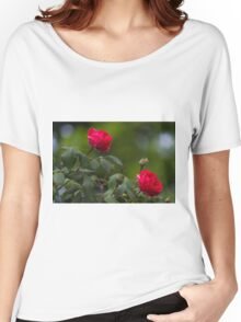 roses in the garden Women's Relaxed Fit T-Shirt