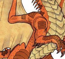 Red Dragon King Sticker