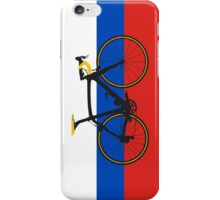 Bike Flag Russia (Big - Highlight) iPhone Case/Skin