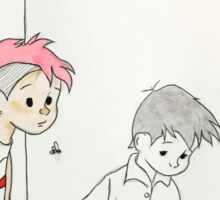 Josh and Tyler, Christopher Robin stylez.  Sticker