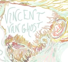 Vincent Van Ghost  Sticker