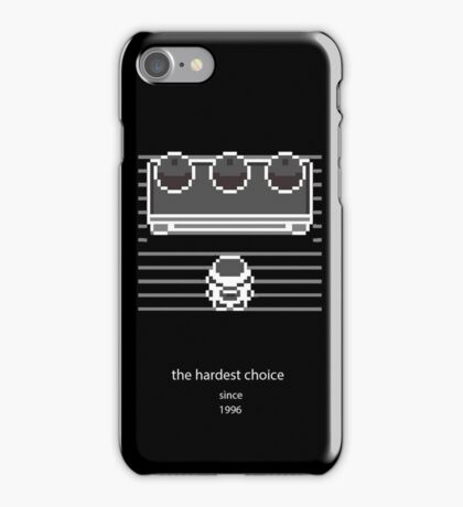 Choose one (black) iPhone Case/Skin
