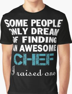 Daddy - Chef's Dad Graphic T-Shirt