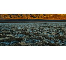 Morning at Badwater Photographic Print