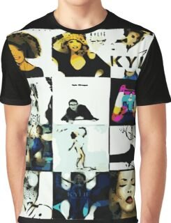 Kylie Albums Graphic T-Shirt
