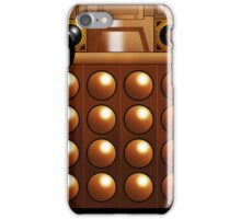 Bronze Dalek Mug iPhone Case/Skin