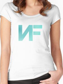 NF - Turquoise Color Women's Fitted Scoop T-Shirt