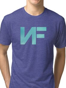 NF - Turquoise Color Tri-blend T-Shirt