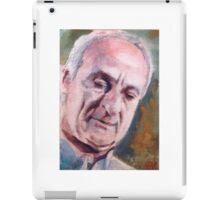 Bandoneon player portrait iPad Case/Skin