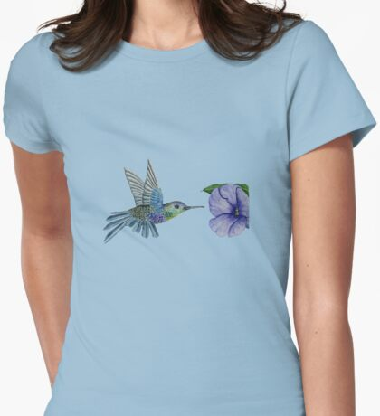 Hummingbird Womens Fitted T-Shirt