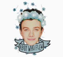 Chris Colfer Flower Crown by clawing-ravens