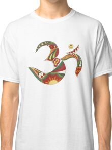 Vintage Psychedelic Om Classic T-Shirt
