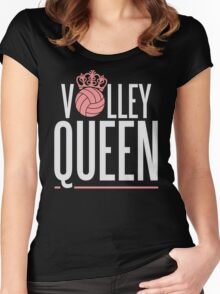 Volley Queen Women's Fitted Scoop T-Shirt