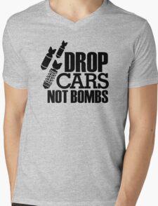 Drop Cars Not Bombs (6) Mens V-Neck T-Shirt