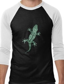 Ornate Lizard Men's Baseball ¾ T-Shirt