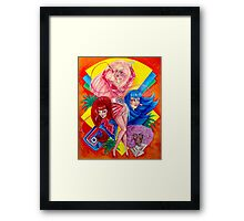 Jem and the Holograms Framed Print