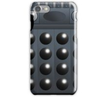 Grey Dalek Mug iPhone Case/Skin