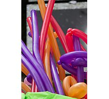 colorful balloons Photographic Print
